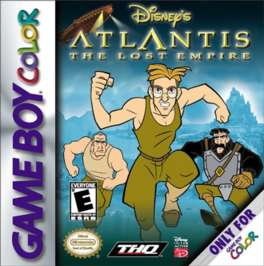 Disney's Atlantis: The Lost Empire - Game Boy Color - Used