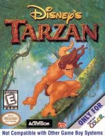 Disney's Tarzan - Game Boy Color - Used