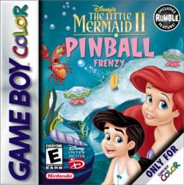 Disney's The Little Mermaid II: Pinball Frenzy - Game Boy Color - Used