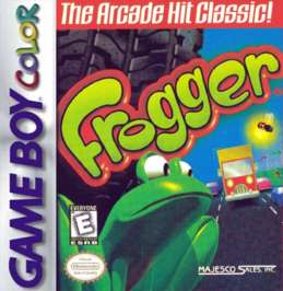 Frogger - Game Boy Color - Used