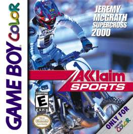 Jeremy McGrath Supercross 2000 - Game Boy Color - Used