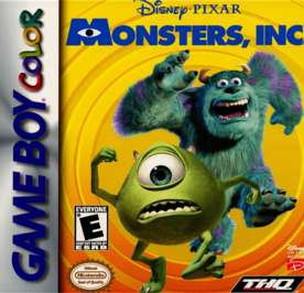 Monsters, Inc. - Game Boy Color - Used