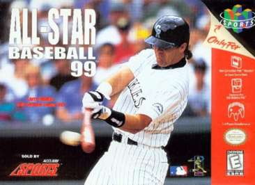 All-Star Baseball '99 - N64 - Used