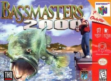 Bassmasters 2000 - N64 - Used