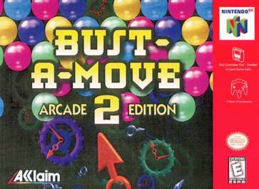 Bust-A-Move 2 Arcade Edition - N64 - Used
