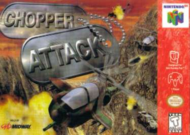 Chopper Attack - N64 - Used