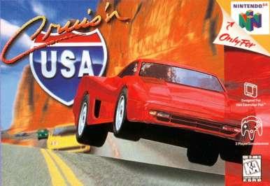 Cruis'n USA - N64 - Used