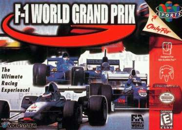 F-1 World Grand Prix - N64 - Used