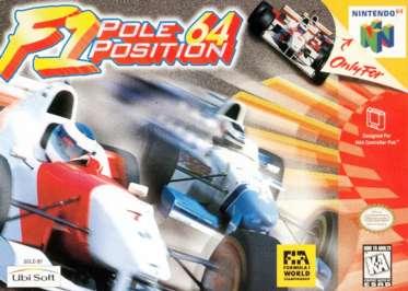 F1 Pole Position 64 - N64 - Used