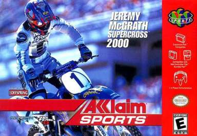Jeremy McGrath Supercross 2000 - N64 - Used
