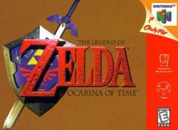 Legend of Zelda: Ocarina of Time - N64 - Used