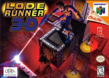 Lode Runner 3D - N64 - Used