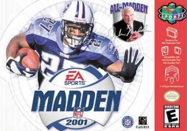 Madden NFL 2001 - N64 - Used