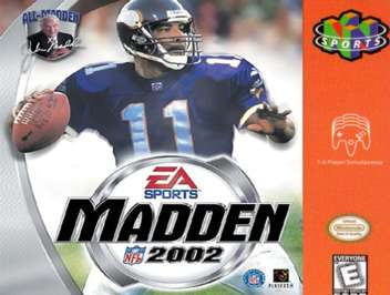 Madden NFL 2002 - N64 - Used