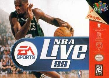 NBA Live '99 - N64 - Used
