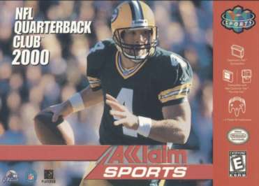 NFL Quarterback Club 2000 - N64 - Used