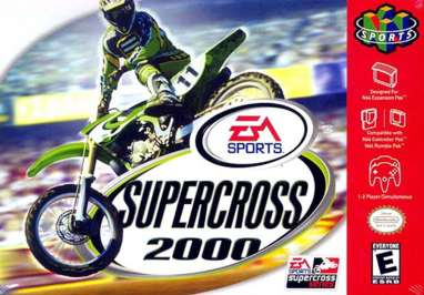 Supercross 2000 - N64 - Used