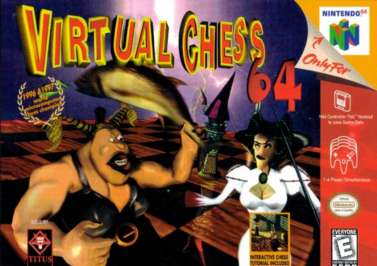 Virtual Chess 64 - N64 - Used