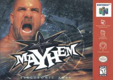 WCW Mayhem - N64 - Used