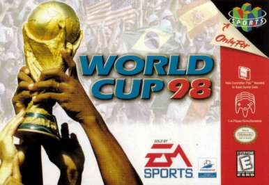 World Cup 98 - N64 - Used