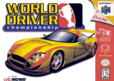 World Driver Championship - N64 - Used