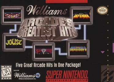 Arcade's Greatest Hits - Atari Collection 1 - SNES - Used
