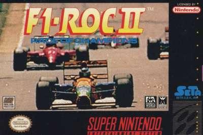 F-1 ROC: Race of Champions 2 - SNES - Used