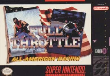 Full Throttle: All-American Racing - SNES - Used