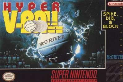 Hyper V-Ball - SNES - Used