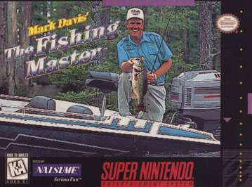 Mark Davis The Fishing Master - SNES - Used