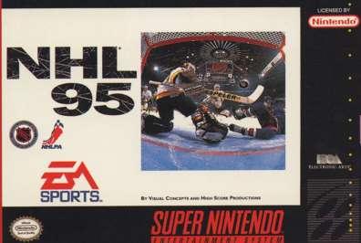 NHL '95 - SNES - Used
