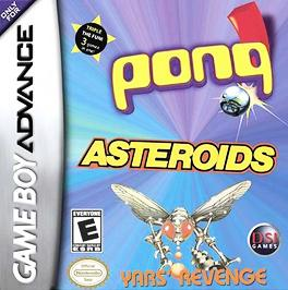 Asteroids / Pong / Yar's Revenge - GBA - Used