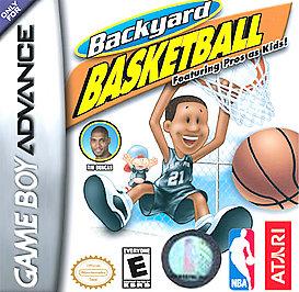 Backyard Basketball - GBA - Used