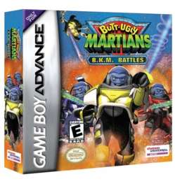 Butt-Ugly Martians: B.K.M. Battles - GBA - Used