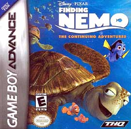 Finding Nemo: The Continuing Adventures - GBA - Used