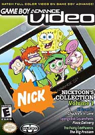 GBA Video: Nicktoons Collection Volume 1 - GBA - Used