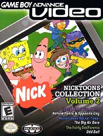 GBA Video: Nicktoons Collection Volume 2 - GBA - Used