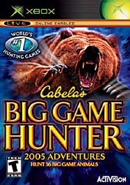 Cabela's Big Game Hunter: 2005 Adventures - XBOX - Used