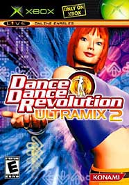 Dance Dance Revolution Ultramix 2 - XBOX - Used
