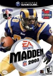 Madden NFL 2003 - GameCube - Used