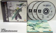 Final Fantasy VII - PlayStation - Black Label