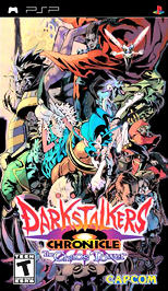 Darkstalkers Chronicle: The Chaos Tower - PSP - Used