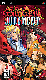 Guilty Gear Judgment - PSP - Used