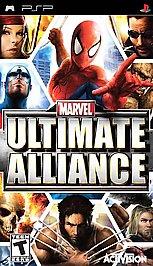 Marvel: Ultimate Alliance - PSP - Used