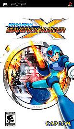 Mega Man Maverick Hunter X - PSP - Used