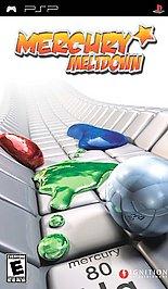 Mercury Meltdown - PSP - Used