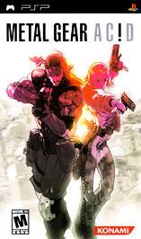 Metal Gear Acid - PSP - Used