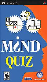 Mind Quiz - PSP - Used