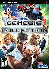 SEGA Genesis Collection - PSP - Used