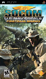 SOCOM: U.S. Navy SEALs Fireteam Bravo - PSP - Used
